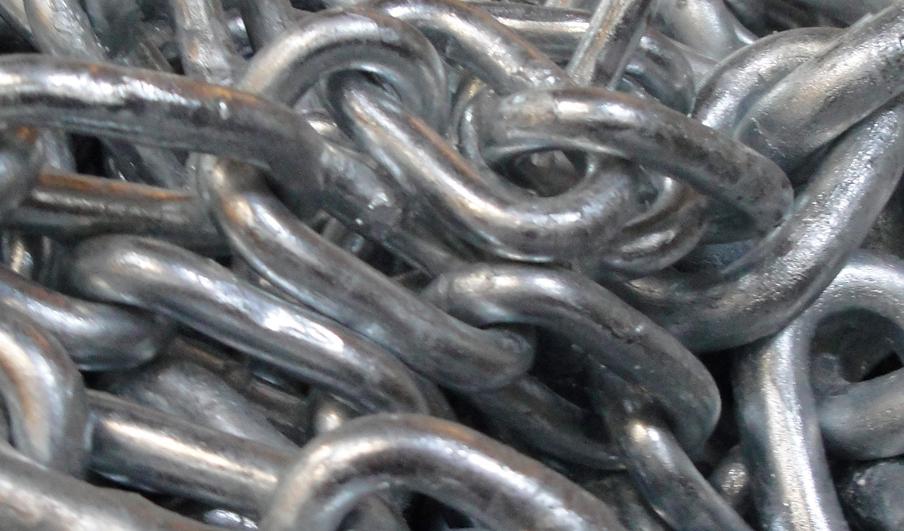 cadenas galvanizadas